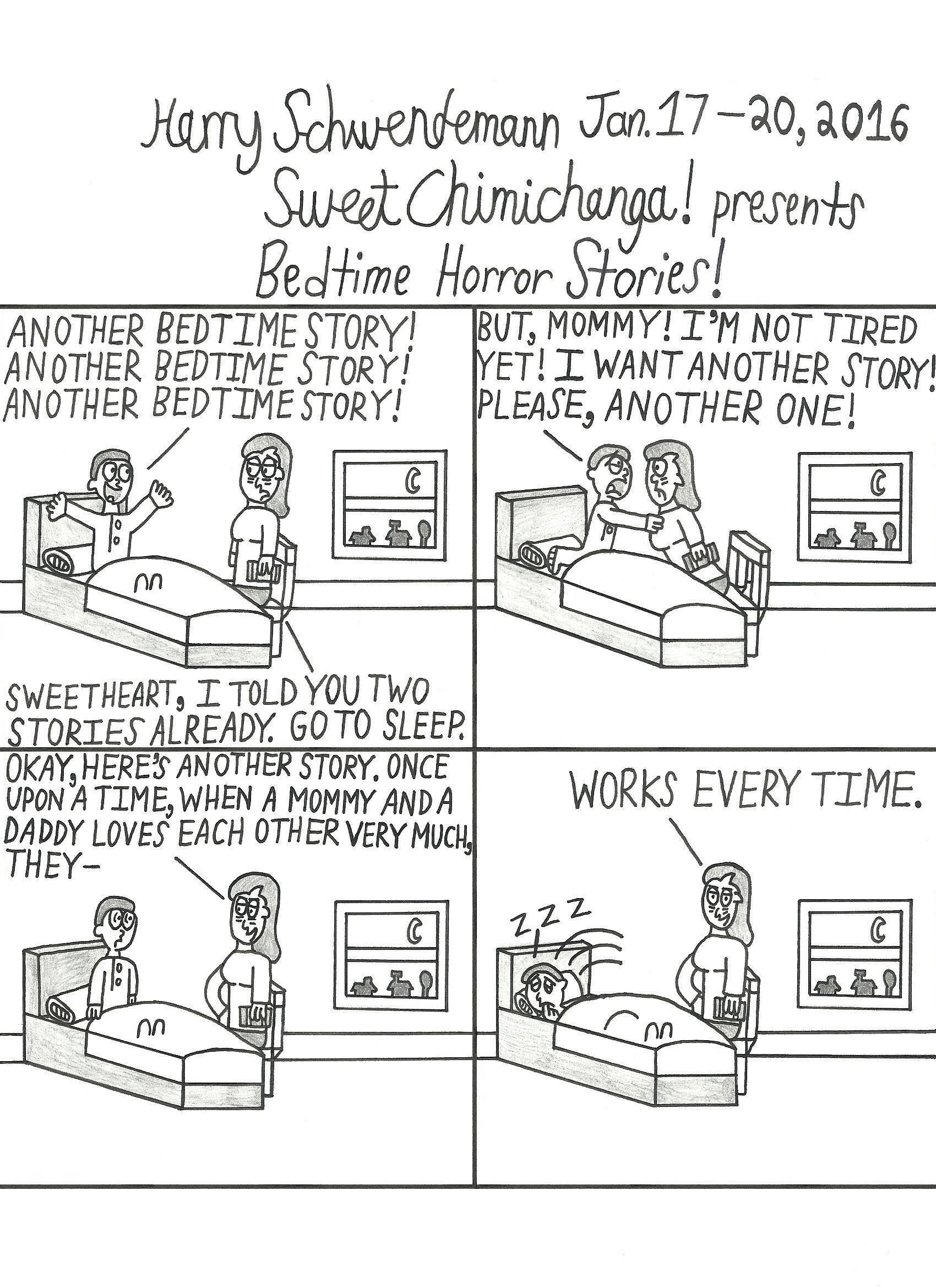 Bedtime Horror Stories!