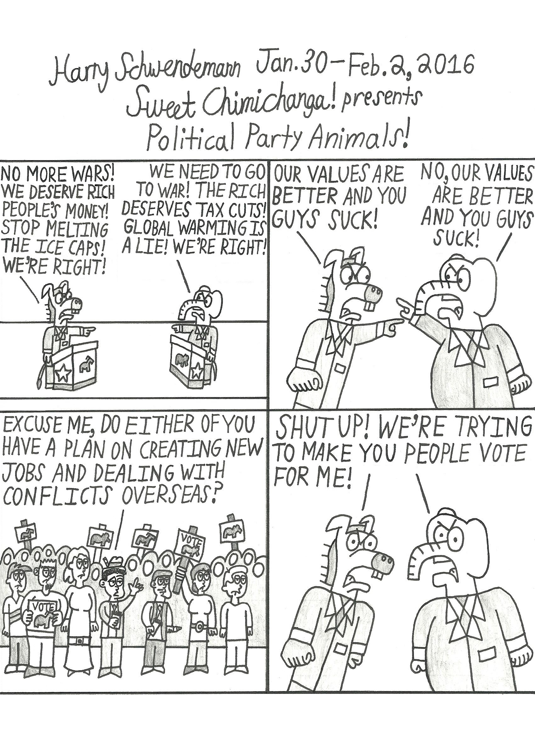 Political Party Animals!