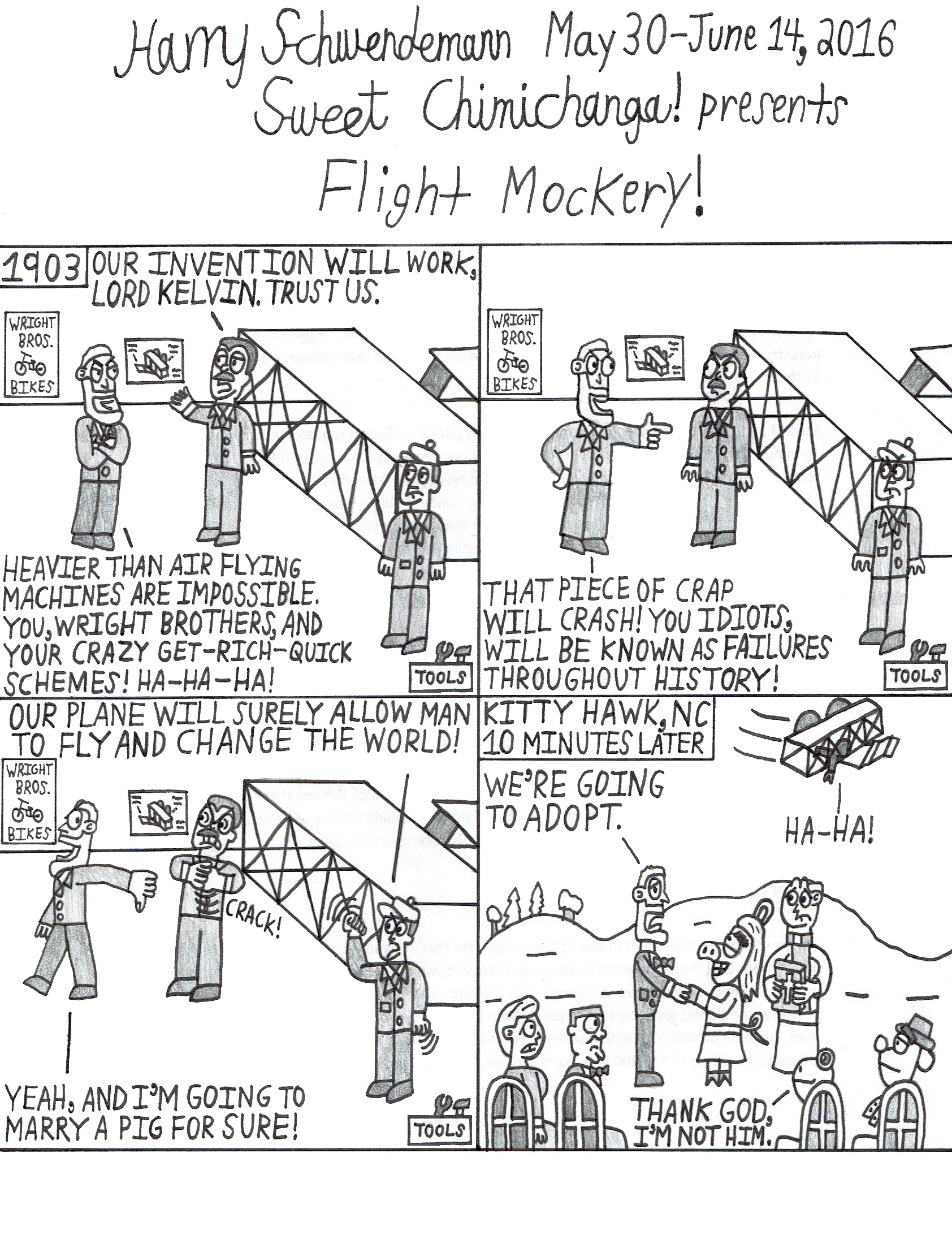 Flight Mockery!