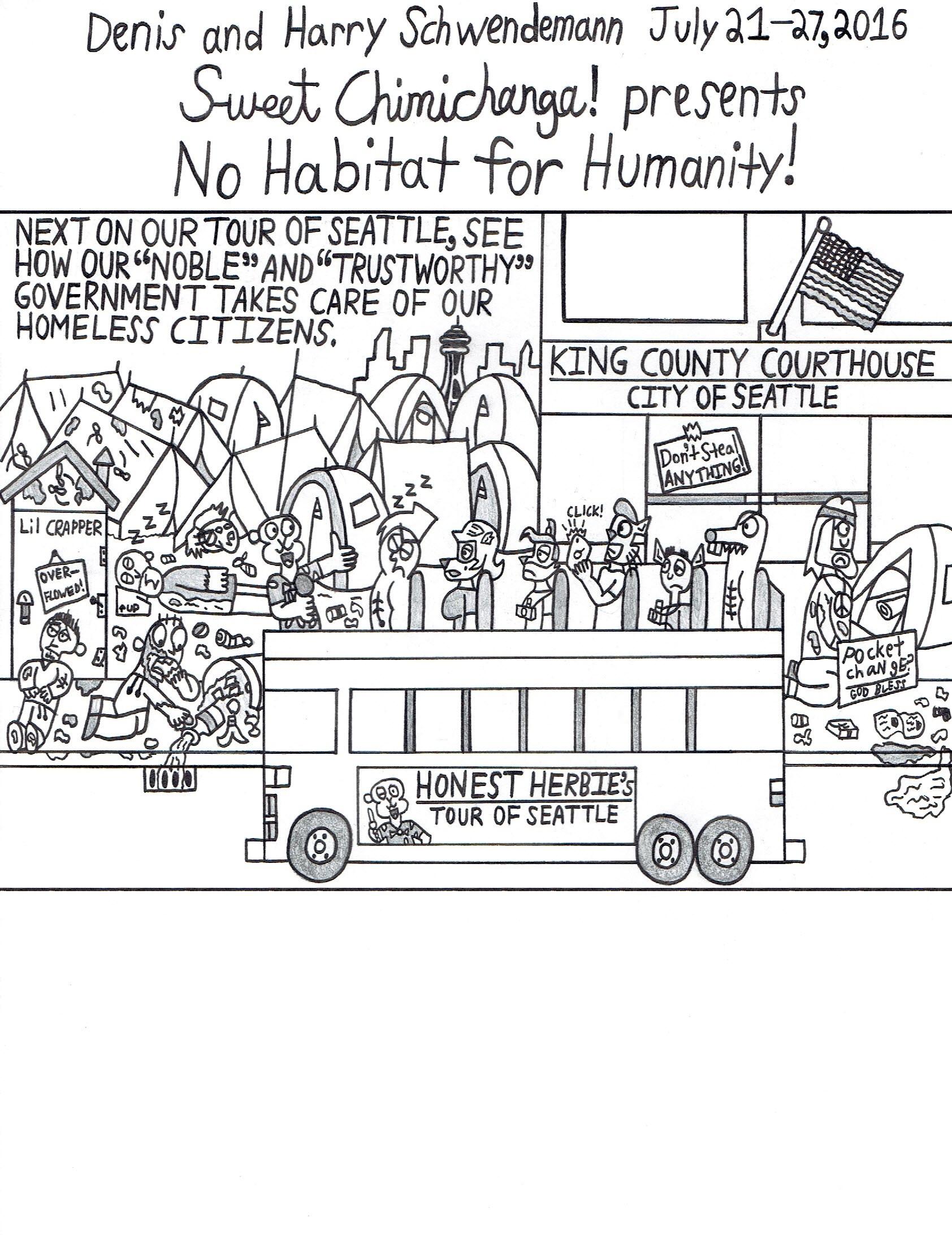 No Habitat for Humanity!