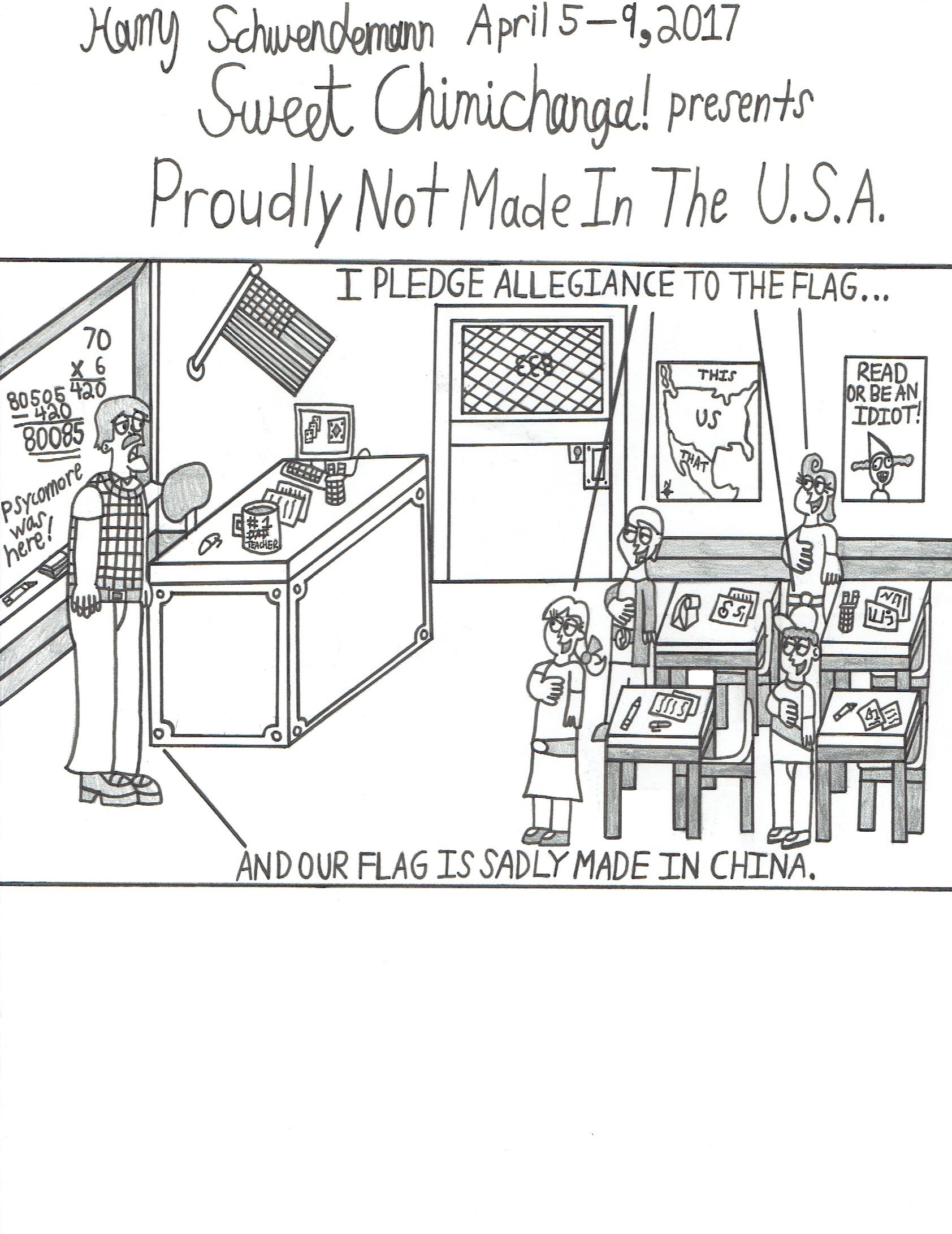 Proudly Not Made In The U.S.A.