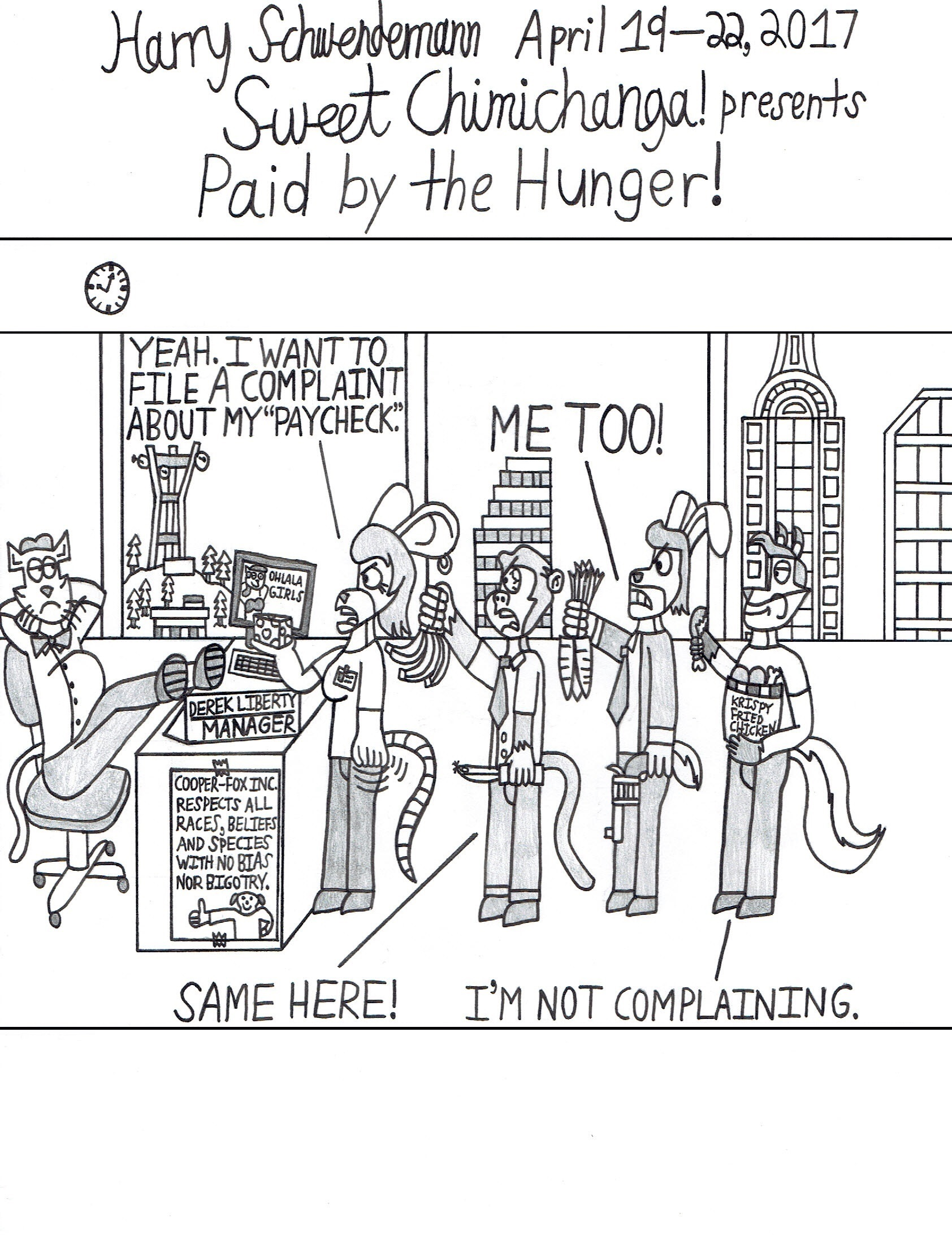 Paid by the Hunger!