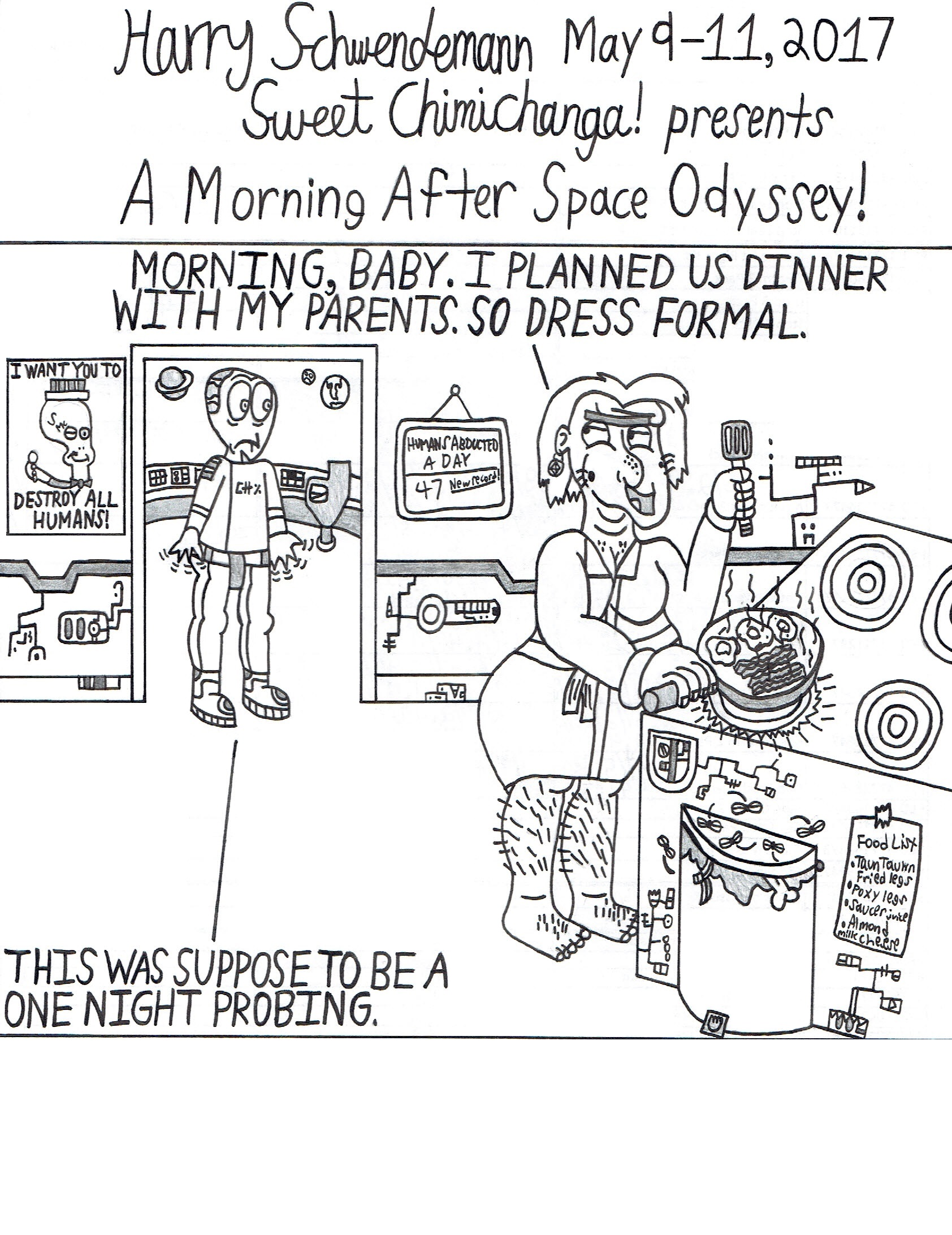 A Morning After Space Odyssey!
