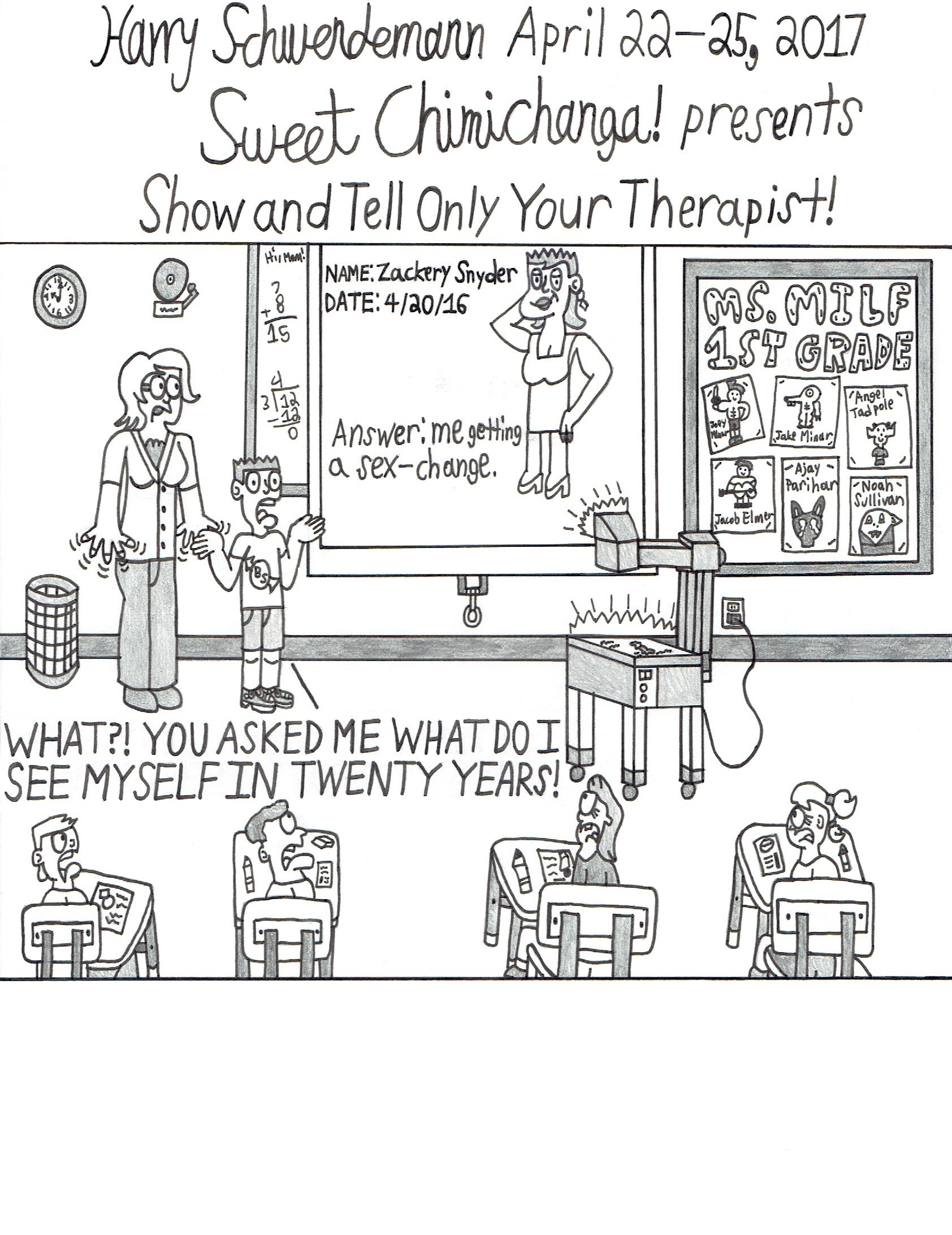 Show and Tell Only Your Therapist!