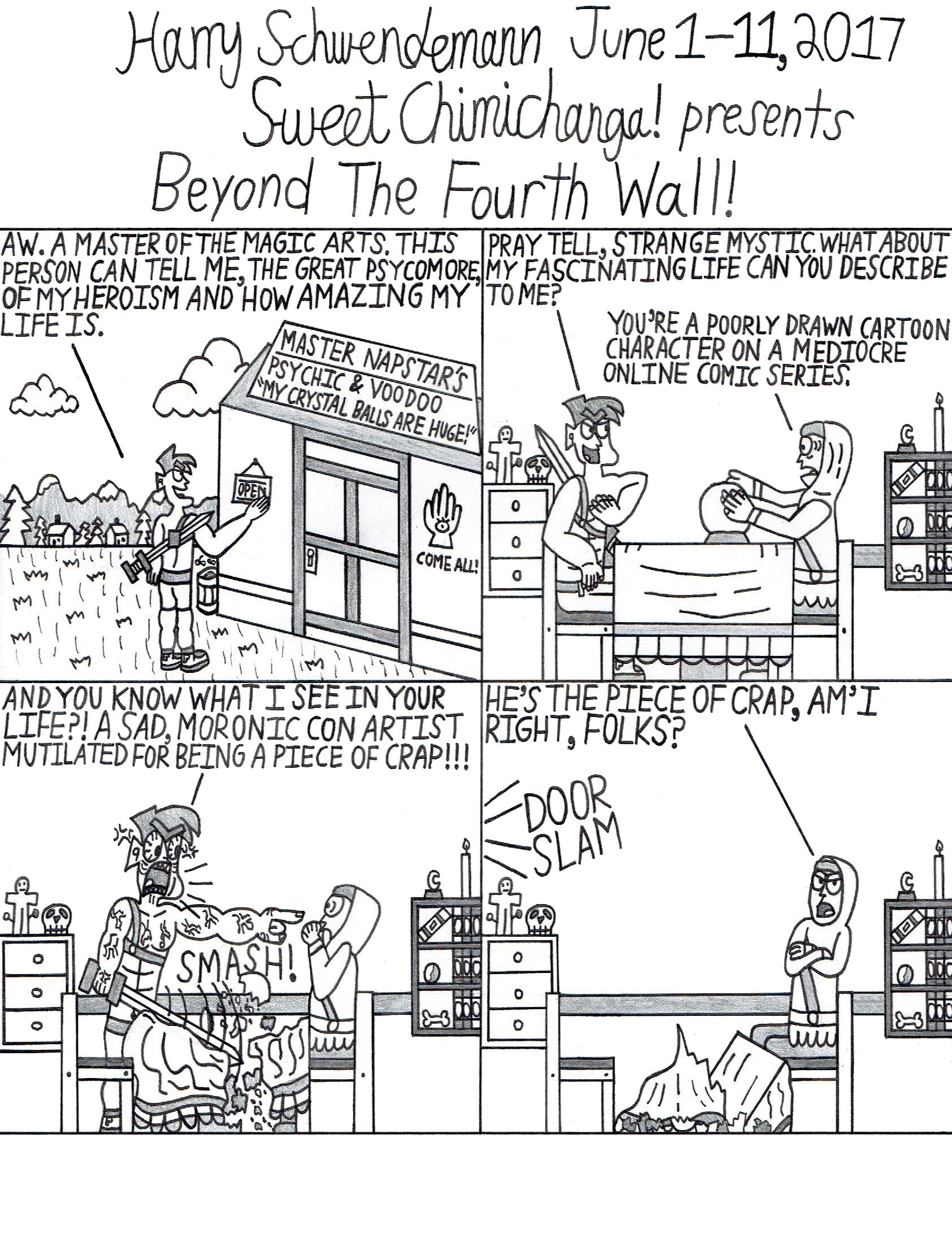 Beyond The Fourth Wall!