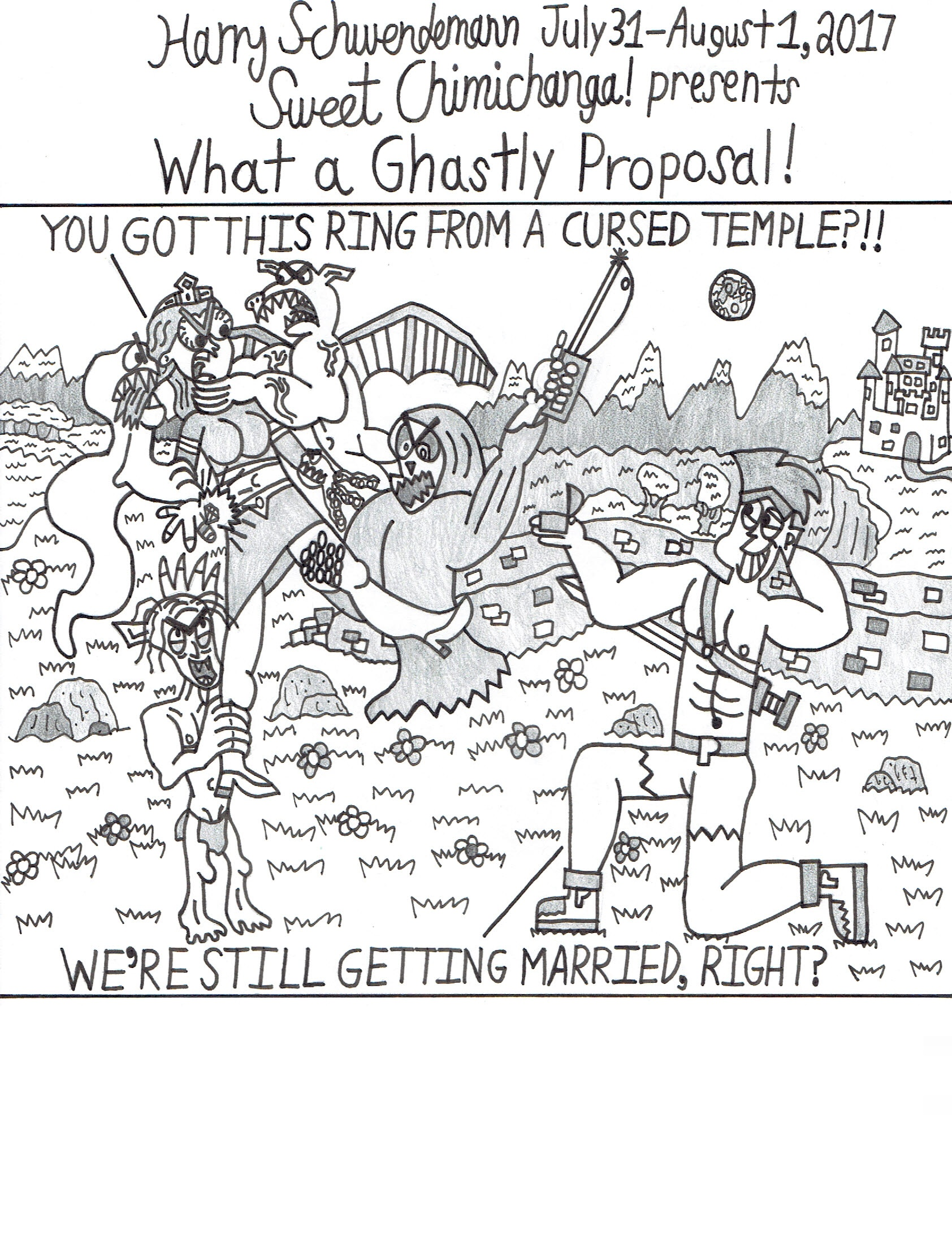 What a Ghastly Proposal!