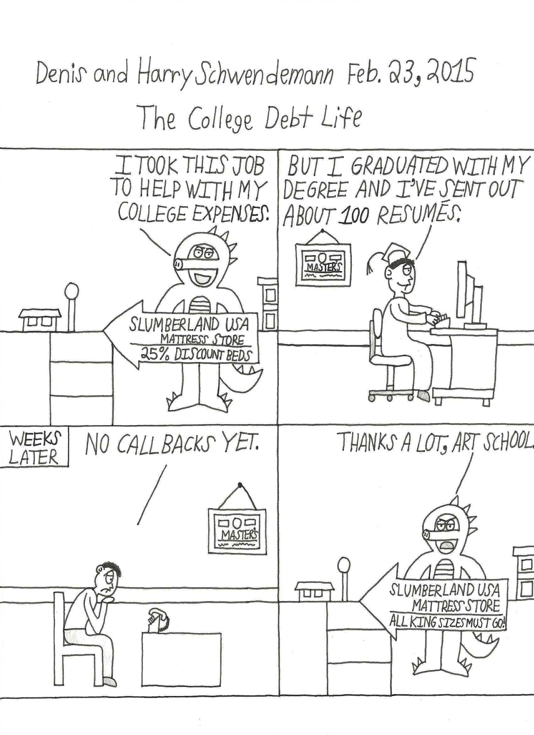 The College Debt Life
