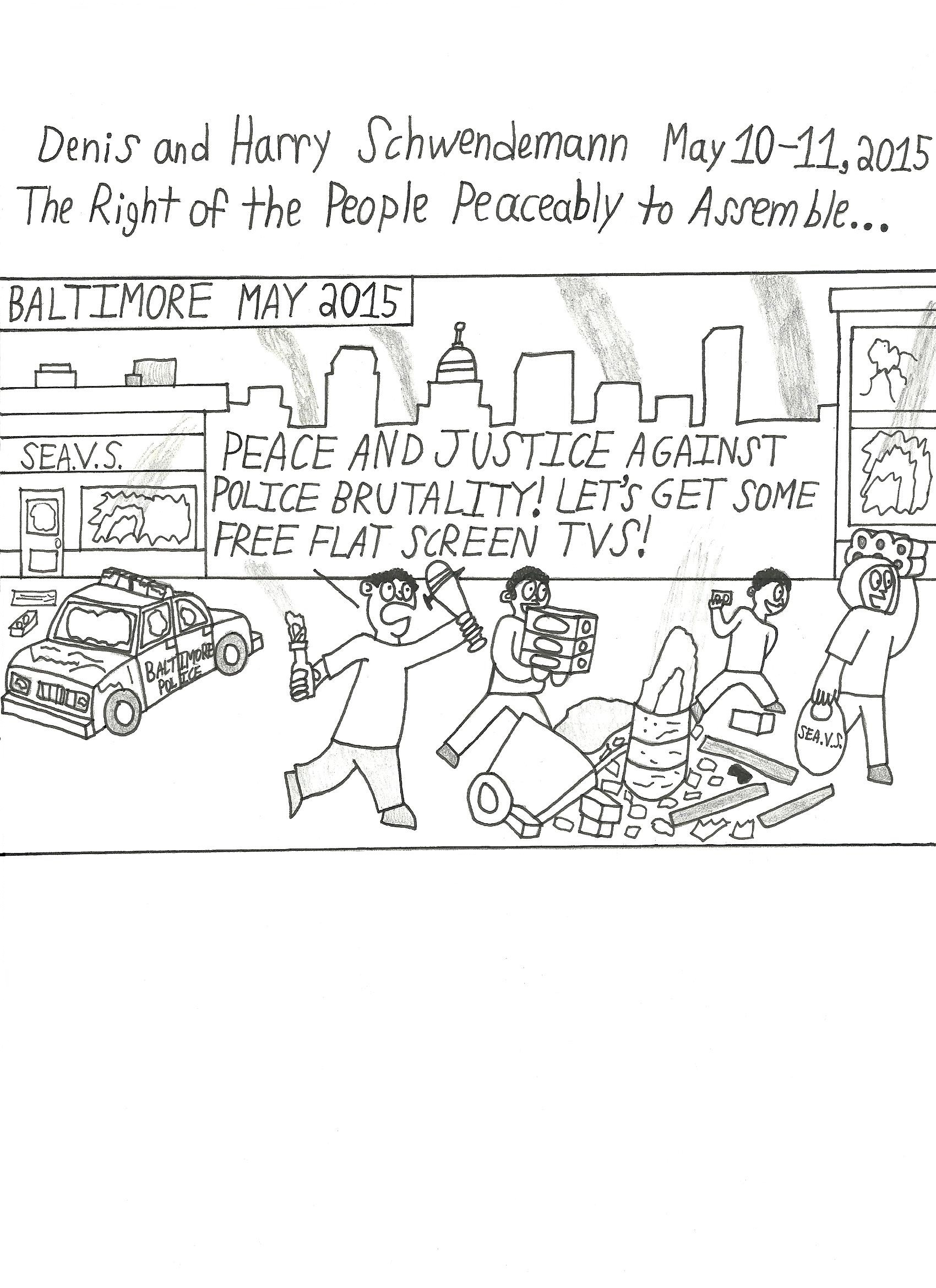 The Right of the People Peaceably to Assemble...